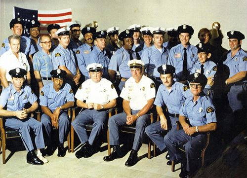 Black Mountain Police and Volunteers - 1975